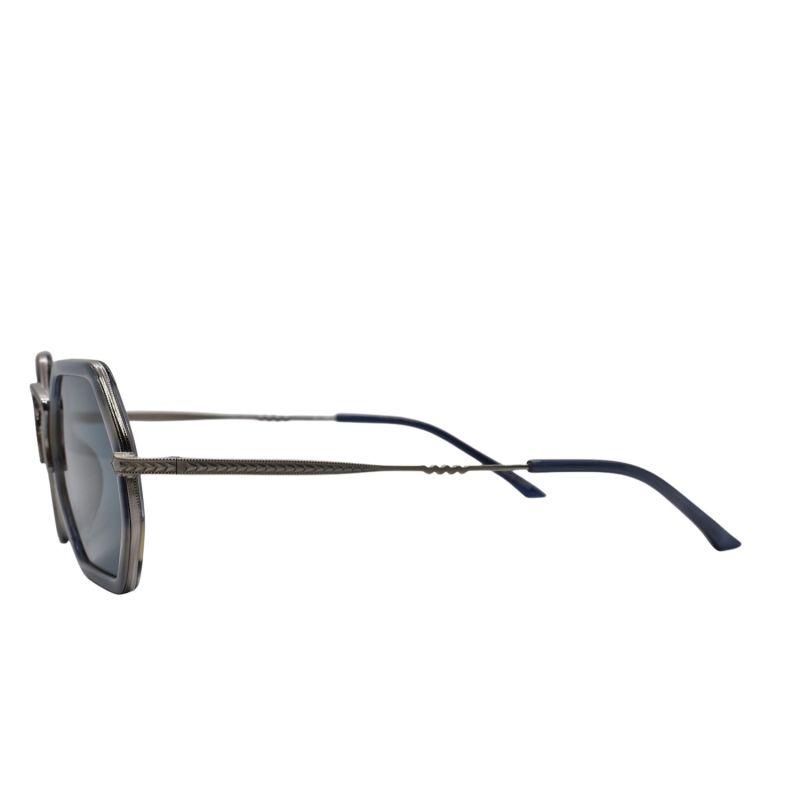 Pch Blue Hexagonal Sunglasses image