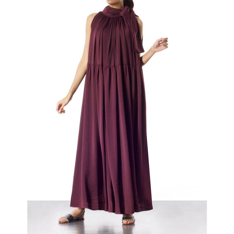 Casee Plum Maxi Dress image