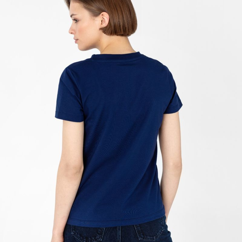 Women's Crew-Neck T-Shirt Navy image