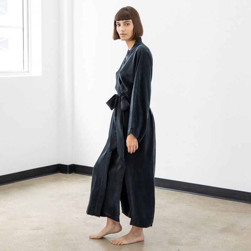Noir Women's Kimono Robe image