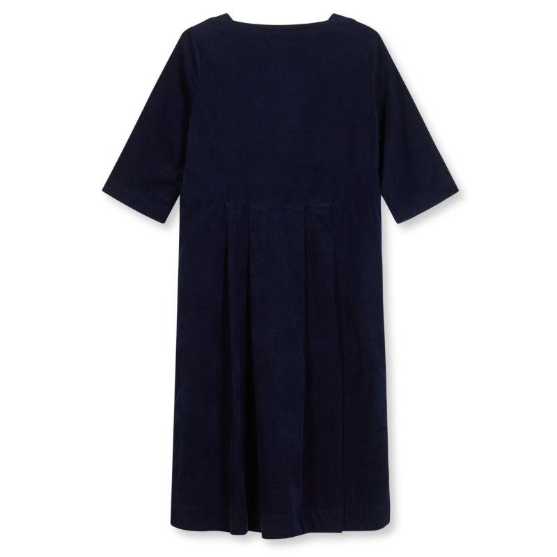 Women's Needlecord Dress - Navy image