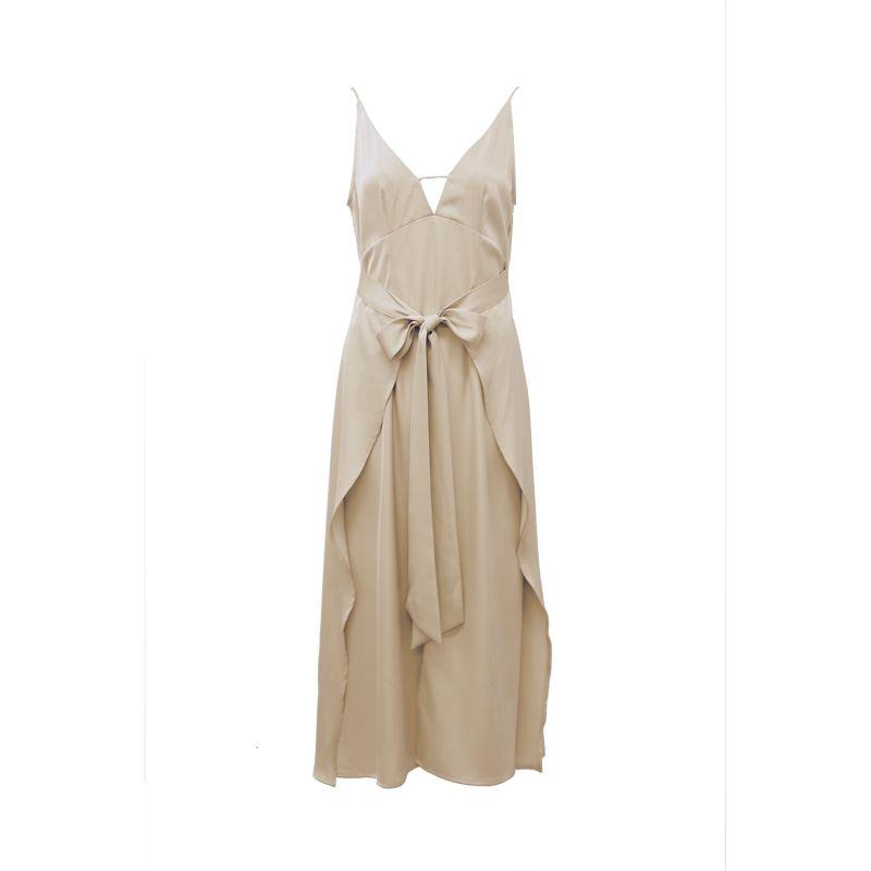 Jolie dress in beige image