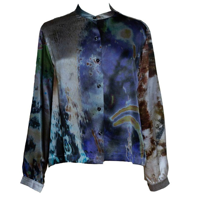 Rivers & Tides Silk Boxy Shirt image