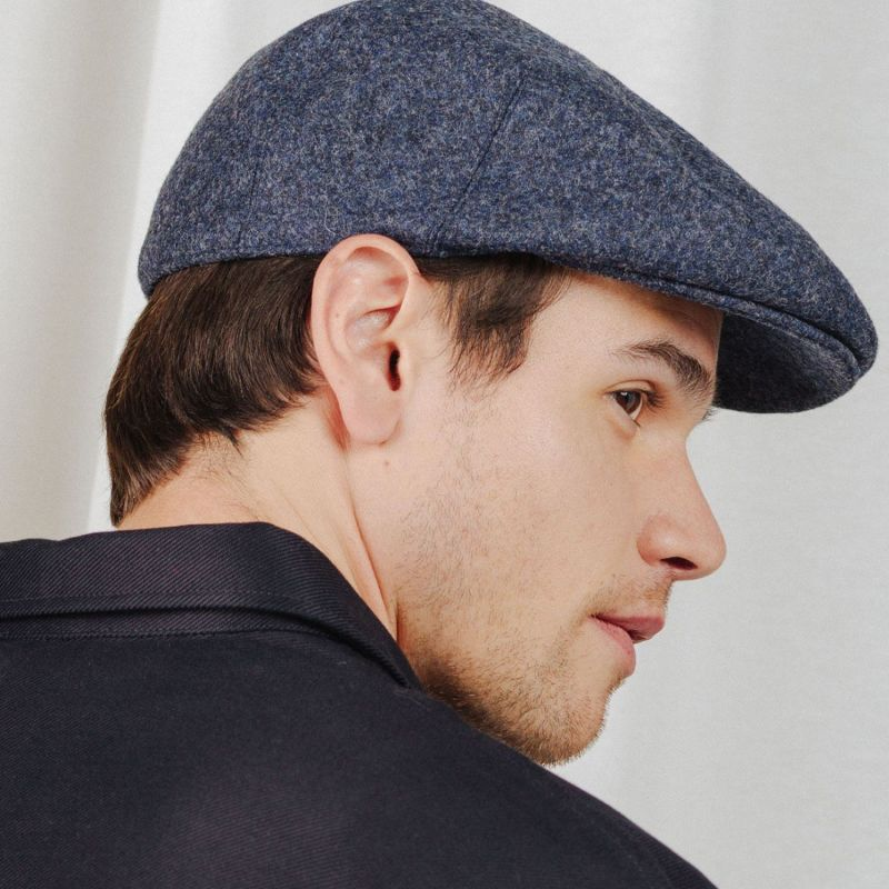 Fitted Cap Wool Earth Cobalt image