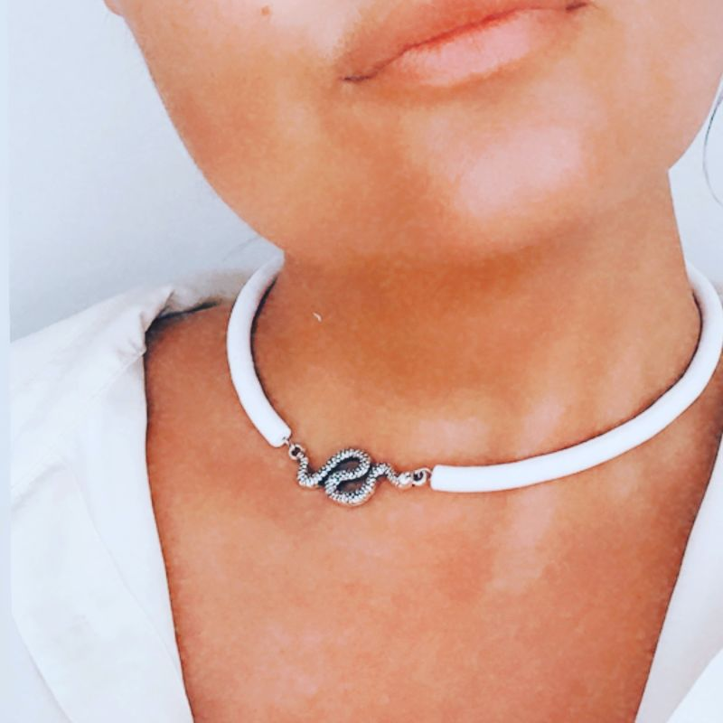 Hand Crafted Serpent Choker image