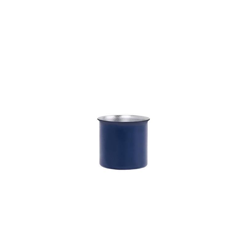 Ayasa Blue Jar With A Metal Lid, 0.5L image