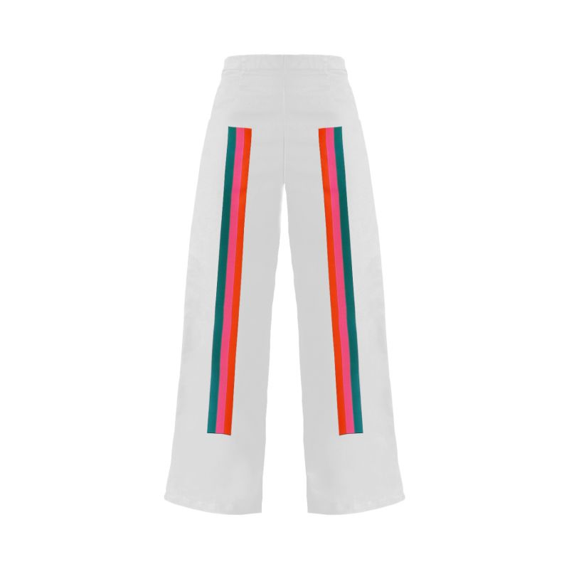 Sunset Embroidered Wide-Legs image