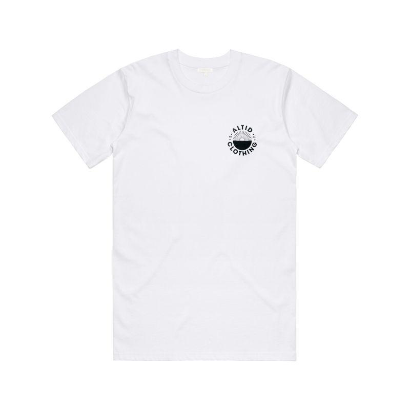 White Graphic T-Shirt image