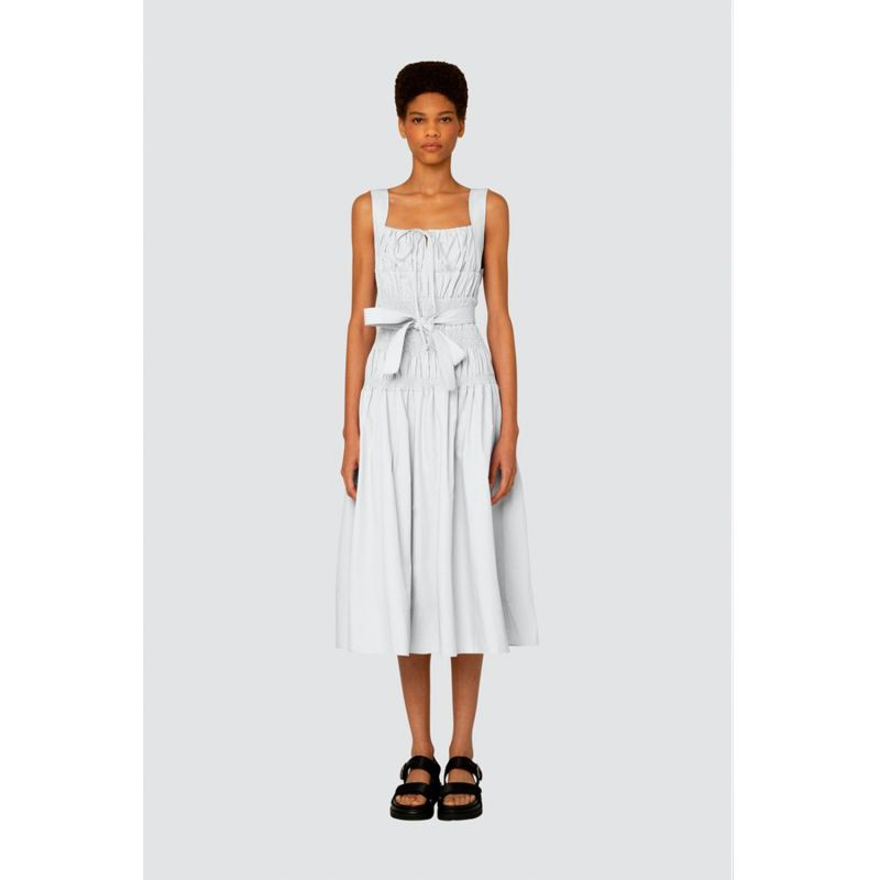 Juno dress in white image