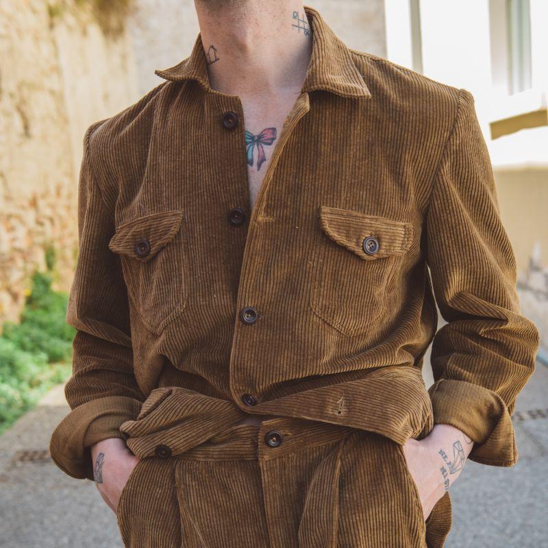 Sarge Men's Jacket - Dark Olive Moleskin image