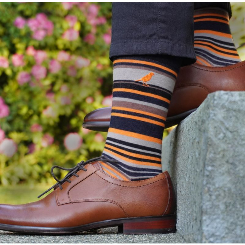 Salmo Stripes Flame Orange image