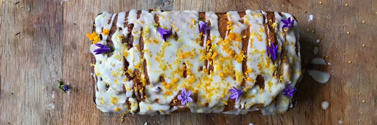 Mabes Makes: Vegan Orange Loaf