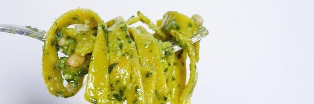 Authentic Pesto Alla Genovese With Pasta Evangelists