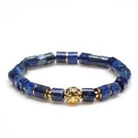 Lapis Lazuli Beaded Bracelet image