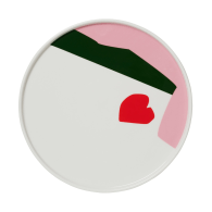 Red Heart Plate image