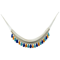Deluxe Natural Cotton Hammock With Hue Inspired Tassels image