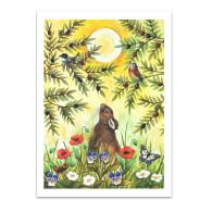 Olive Grove Print image