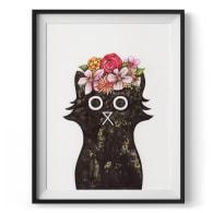 Frida Cat Giclée Print image