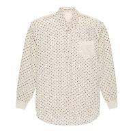 Mens Flannel Silk Polka Dot Shirt image