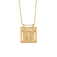 Let Me In Necklace (Gold) image