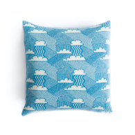 Little Fluffy Clouds Lambswool Cushion image
