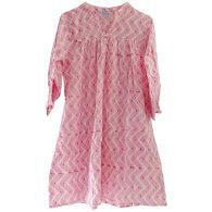 Pink Block Print Market Dress image