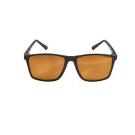 Vaquita Polarised Mirrored Recycled Sunglasses In Black & Gold image