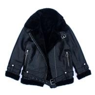 Moto Shearling Jacket image