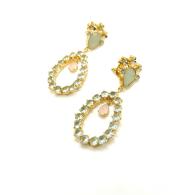 Blue Daisy Earring image