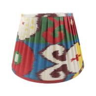 Chicana Silk Pleated Multicoloured Lampshade 35cm image