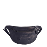 Loe Leather Fanny Pack In Navy image