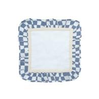 Azure Mini Checkerboard - Blue image
