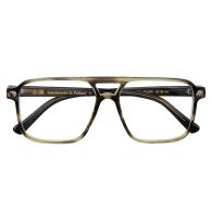 Pontus Square Optical Glasses - Green Unisex image