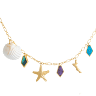 Ocean Charms Necklace image