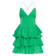 Barcelona Mini Dress Emerald image