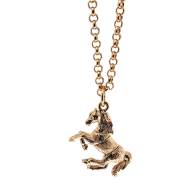 Articulated Horse Charm Pendant British Made image