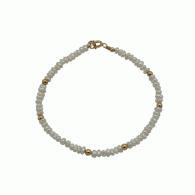 Pearl & Gold Bracelet image