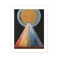 Hilma Af Klint Altarpiece Art Print A5 image