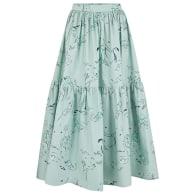 Eidothea Skirt In Old Neptune Print image