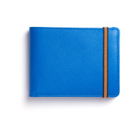 Light Blue Minimalist Wallet With Coin Pocket image