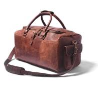 The Henrdrix Leather Duffel Bag image