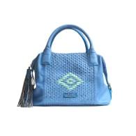 Kakuuna Infinty Satchel Bag | Blue image