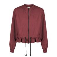 Marley Linen Jacket - Wine image