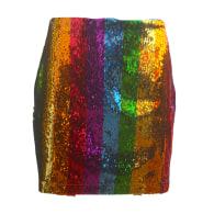 Any Old Iron Rainbow Skirt image