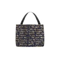 Oversized Denim Tote Bag image