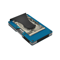 Blue Aluminum GRID Wallet image