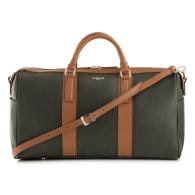 Travel Bag Black with Brown image