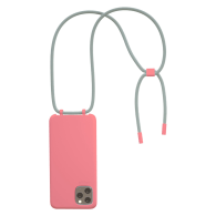 Bonibi Crossbody Phone Case For All Iphone Models Coral-Seafoam–Coral image