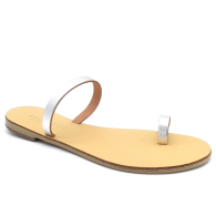 Toe Ring Sandals Até Silver image
