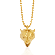 Bear Pendant Gold image